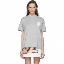 Burberry Grey Emerson T-Shirt 8031310