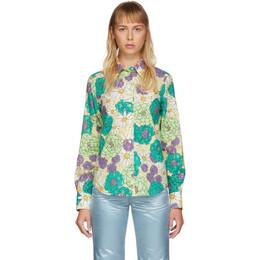 Marc Jacobs Multicolor Floral Shirt W6000021