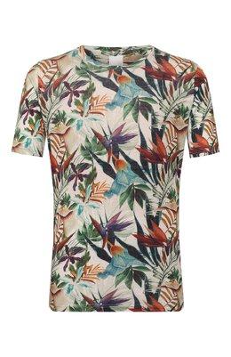 Льняная футболка 120% Lino R0M7186/F776/300
