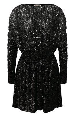 Платье с пайетками Saint Laurent 611963/YBSH2