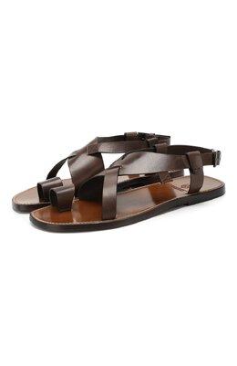 Кожаные сандалии Silvano Sassetti S19955X409AELBAPI0M