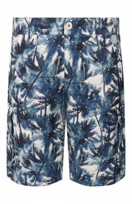 Льняные шорты 120% Lino R0M2426/F795/000