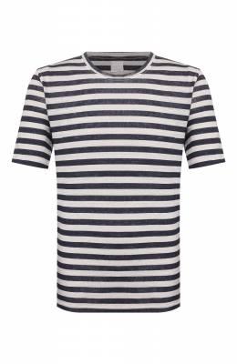 Льняная футболка 120% Lino R0M7186/F781/300