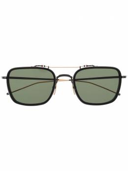 Thom Browne Eyewear солнцезащитные очки в квадратной оправе TBS816