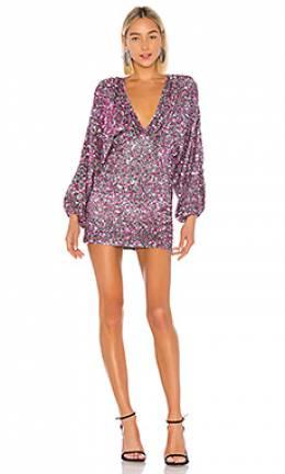Платье с пайетками aubrielle - Retrofete FW19-2403