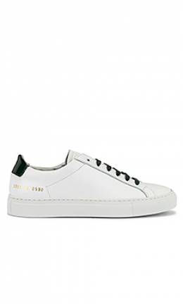 Кроссовки retro low glossy - Common Projects 3998