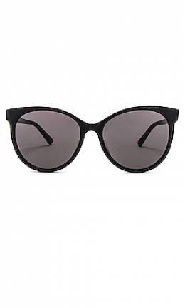 Солнцезащитные очки round - Bottega Veneta BV1022SK-001