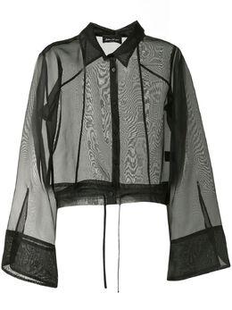 Andrea Ya'aqov полупрозрачная блузка 20WLON209