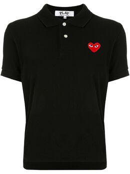 Comme Des Garcons Play рубашка-поло с нашивкой-логотипом AZT005051
