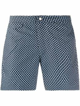 Sunspel плавки-шорты с микропринтом MSHR3704P
