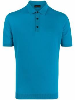 Roberto Collina рубашка-поло тонкой вязки RC10024