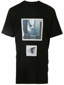 Julius футболка с круглым вырезом и принтом 697CPM3