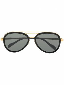 Cutler & Gross солнцезащитные очки-авиаторы 132304B