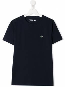 Lacoste Kids футболка с круглым вырезом TJ8811