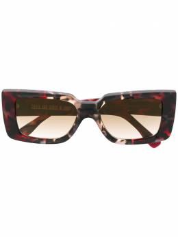 Cutler & Gross солнцезащитные очки с мраморным эффектом 136905