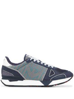 Emporio Armani кроссовки со вставками X4X289XM232