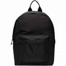 Norse Projects Black Hybrid Backpack N95-0775