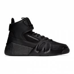 Giuseppe Zanotti Design Black Jupiter Talon High Top Sneakers RM00057-85508