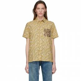R13 Yellow Tony Shirt R13W7619P-6C2
