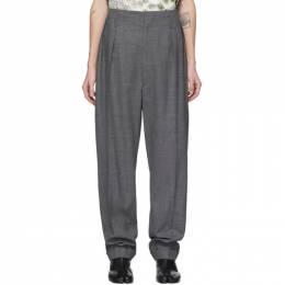 Maison Margiela Grey Wool Trousers S29KA0338 S52955