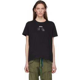 R13 Black Check All That Apply Boy T-Shirt R13W3570-01
