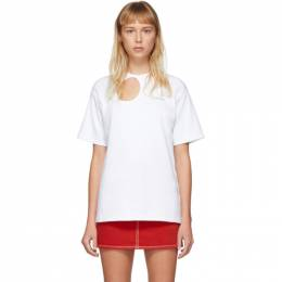 Off-White White Meteor Tomboy T-Shirt OWAA078S20JER0010145