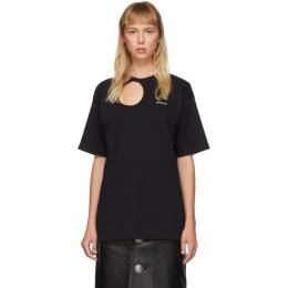 Off-White Black Meteor Tomboy T-Shirt OWAA078S20JER0011045