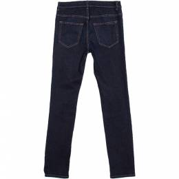 Prada Navy Blue Denim Skinny Fit Jeans S 279116