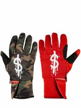 Bicolor Dollar Gloves Sprayground 71IXWA006-TVVMVEk1