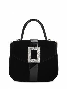 Beau Vivier Velvet Top Handle Bag Roger Vivier 71IVUW009-MEI1Nw2