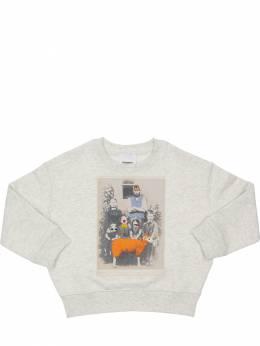 Printed Cotton Sweatshirt Burberry 71IVT8009-QTQ4MDc1