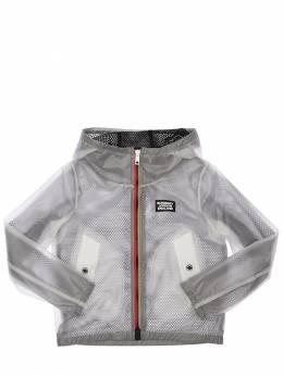 Hooded Nylon Rain Coat Burberry 71IVT8005-QTQ4NTA1