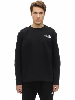 Spacer Knit Sweatshirt The North Face 71IVP3004-Sksz0