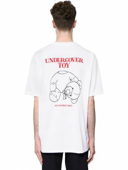 Printed Cotton Jersey T-shirt Undercover 71IS3P002-QQ2