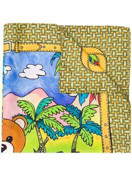 Moschino платок с принтом Teddy Bear 03548M2204