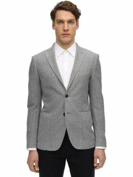 Single Breasted Cotton Jersey Jacket Tonello 71IM87008-OTAw0