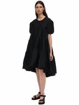Платье Из Хлопка Поплин Cecilie Bahnsen 71IDLQ001-QkxBQ0s1