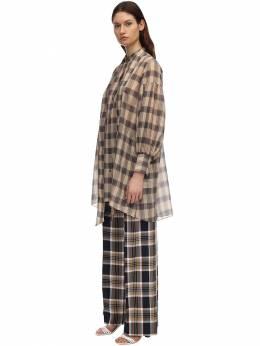 Платье-рубашка Из Хлопковой Вуали Rokh 71IDKY006-NzMyQ0hBTVBBR05FQU5E0