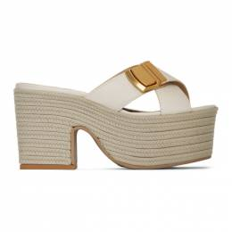 Jacquemus Off-White Les Sandales Tatanes Sandals 201FO07-201 78120