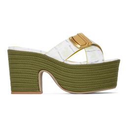 Jacquemus Green Les Sandales Tatanes Sandals 201FO07-201 7753G