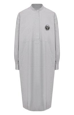 Хлопковое платье Mm6 Maison Margiela S52CT0500/S47294