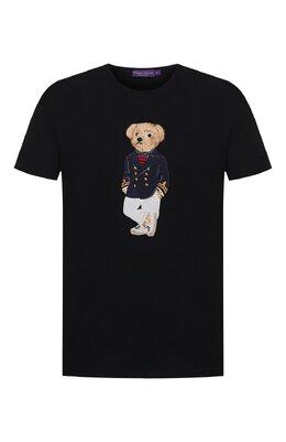 Хлопковая футболка Ralph Lauren 790786266