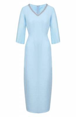 Льняное платье 120% Lino R0W40FT/0115/S02