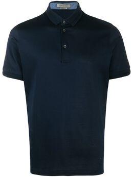 Corneliani рубашка-поло узкого кроя 00G5010025000