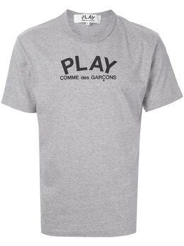 Comme Des Garcons Play футболка с логотипом AZT072051