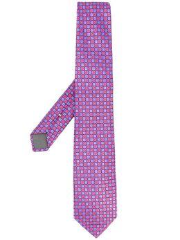 Canali галстук с геометричным узором 18HJ02681