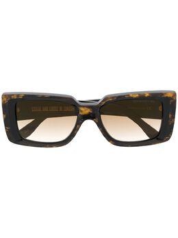 Cutler & Gross солнцезащитные очки с мраморным эффектом 136903