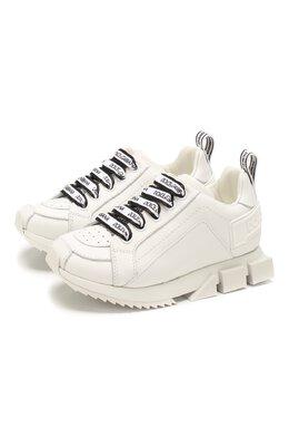 Кожаные кроссовки Dolce&Gabbana DA0711/A3444/24-28