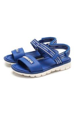 Кожаные сандалии Dolce&Gabbana DN0139/AX183/19-28