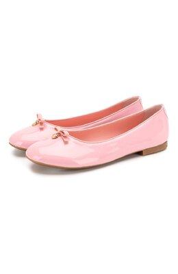 Кожаные балетки Dolce&Gabbana D10341/A1328/37-39